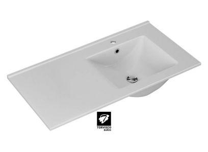 LAVABO EXTRAFINO DESPLAZADO | Lavabo de Baño | Serie EXTRAFINO | LAVABOS | Catálogo BATHONE | Torvisco Group