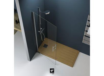 FRENTE DUCHA MILÁN | LISO | Mampara | Serie MILÁN | Mamparas bañera | Catálogo BATHGLASS | Torvisco Group