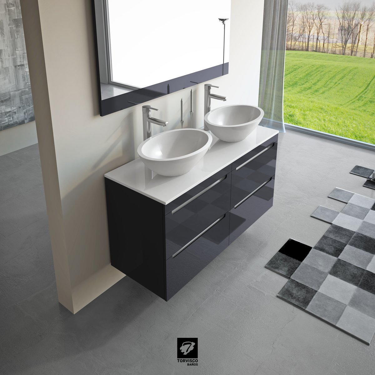 Mueble Loa Torvisco - Loa Urban Muebles De Ba O Torvisco Ba Os[mjhdah]http://www.chicbathrooms.ie/wp-content/uploads/2017/03/loa_40y60_mueble_torvisco_banos.jpg
