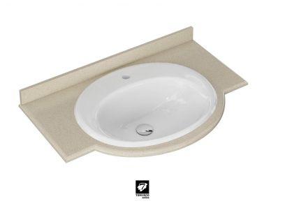 ENCIMERA CEDEIRA | Encimera de Baño | Serie CEDEIRA | ENCIMERAS | Catálogo BATHONE | Torvisco Group